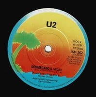 U2 Pride (In The Name Of Love) Vinyl Record 7 Inch Island 1984 Double Pack
